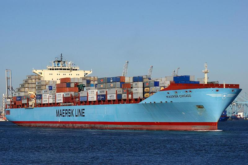 Container Vessels Maersk Chicago AMO