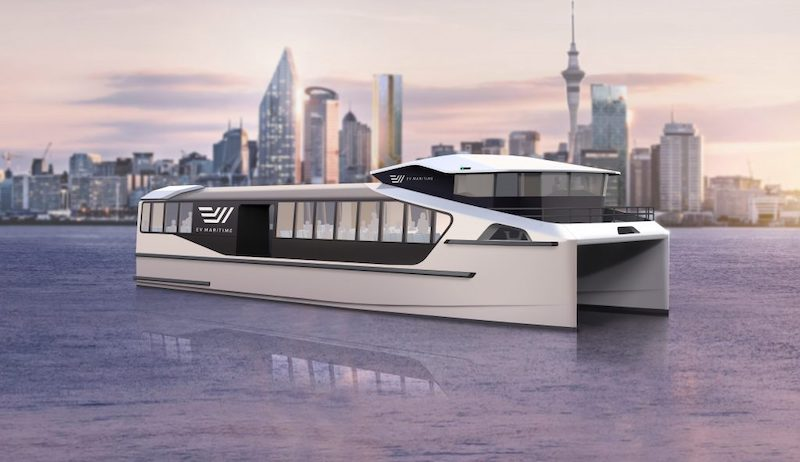 EV Maritime EVM200 Electric Fast Ferry 1 1024x591