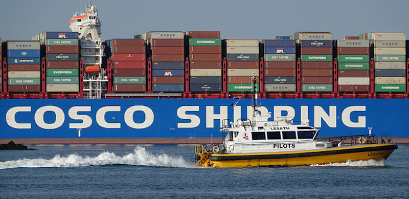 cosco shipping flickr