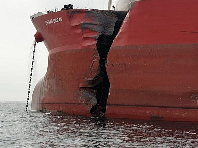 LNG Carrier Aseem Collides with VLCC Shinyo Ocean off Fujairah