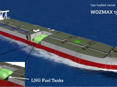 Joint Approval in Principle for New Concept Design of LNG-fuelled Ore Carrier