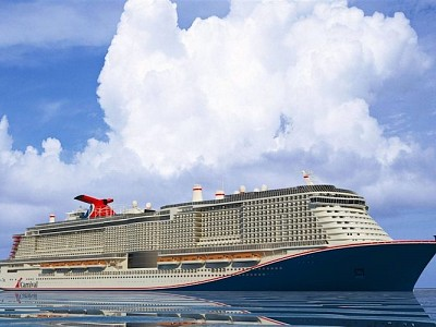 First Steel Cut for Carnival Cruise Line's Newest and Largest Ship