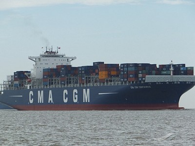Report on the investigation of heavy contact with the quay and two shore cranes by  CMA CGM Centaurus 