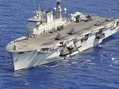 UK agrees sale of HMS Ocean to Brazil