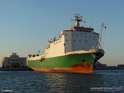 Fire Destroys RoRo Ship off Saudi Arabia