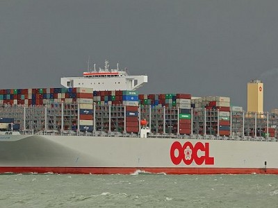 OOCL orders 7 more 23,000 TEU boxships in China