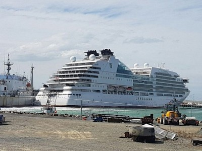 Seabourn Encore collision in Timaru
