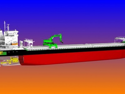 Wärtsilä to supply world's first hybrid powered self-discharging bulk carriers