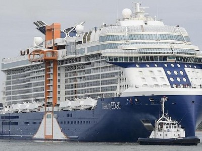 Celebrity Cruise Ship Sets Sail on First Voyage With Ticketed Passengers