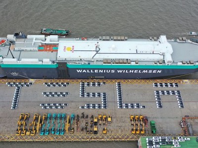 Wallenius Wilhelmsen Ocean: Supporting Tesla with first shipments of China-made cars to Europe