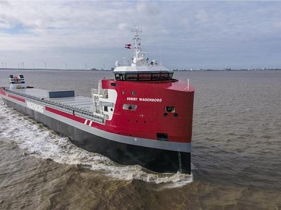 Egbert Wagenborg first ship of new generation