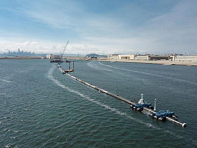 2,000-Foot-Long Plastic Catcher Released to Aid Cleanup of Great Pacific Garbage Patch