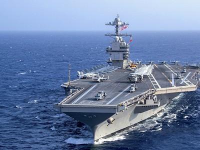 US Navy's $13.2 billion aircraft carrier still experiencing problems