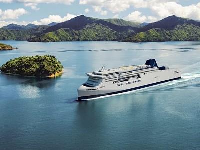The Isle of Man Ship Registry Chosen to Flag New Zealand's New Interislander Ferries