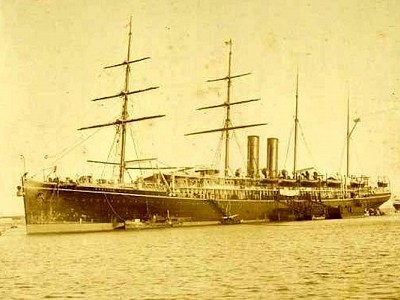 The sorry tale of the Oceana 16th March 1912