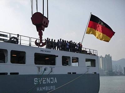 SAL Heavy Lift Returns to German Flag