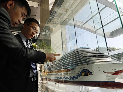 China's first domestic large-scale cruise ship enters production stage
