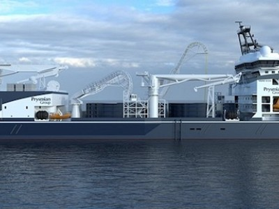 RINA classes Prysmian's new hi-tech cable-laying vessel