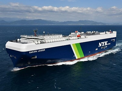 NYK to order 12 LNG-fueled car carriers