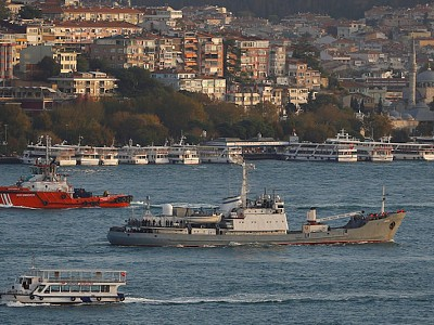 78 Rescued as Russian Naval Ship Sinks After Collision