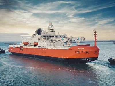 Global pandemic leads to innovative solutions for Australia's new icebreaker