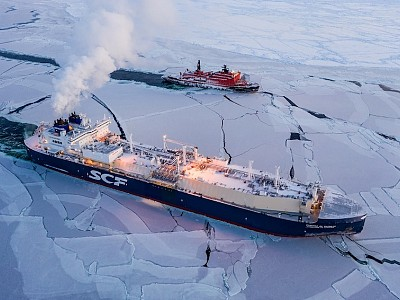 Unique voyage of LNG carrier Christophe de Margerie expands navigation window in the eastern part of the Russian Arctic