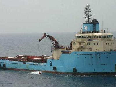 Maersk Supply Services vessel pair sink en route to scrapyard