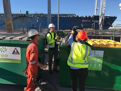 Ship garbage recycling pilot wraps up at Port of Brisbane
