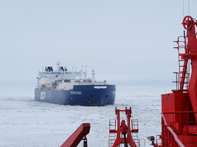Christophe de Margerie completes eastbound transit of NSR two months earlier than usual