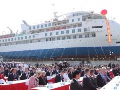 First Chinese-built cruise ship: paving the way for the industry