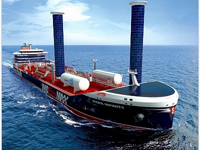 Stena Bulk is presenting a prototype of the next-generation product and chemical tanker – the IMOFlexMAX