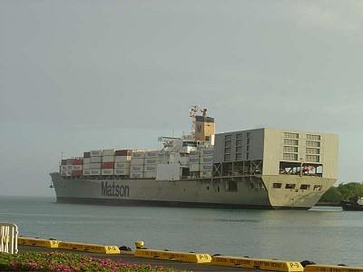 Hull Crack Leads to Fuel Leak Aboard U.S. Con/Ro Matsonia