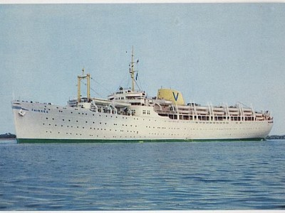 M.V. Fairsea, 1949-1969 -  Post World War II Migrant Ship