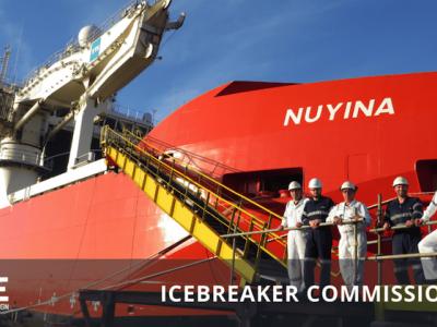 ICE Marine Design: Icebreaker Commissioning