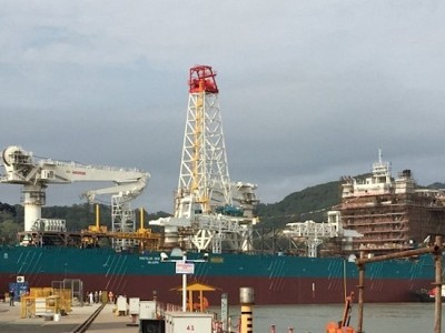 Nautilus Minerals Seafloor Production Vessel Launched