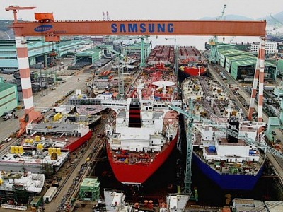 SHI Applies World`s First Eco-Friendly Paint To Commercial Ships