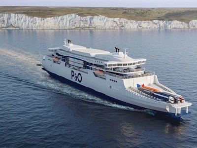 P&O Ferries releases first images of 260m euro new super-ferries, designed to revolutionise transport between Britain and Europe