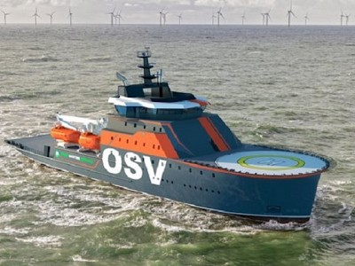 Damen introduces a new concept vessel – the Offshore Support Vessel (OSV) 9020