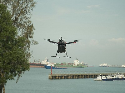 Singapore's first Maritime Drone Estate launched