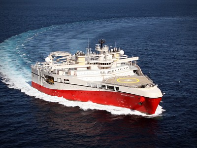 PGS Sets Australian Seismic Acquisition Benchmark with the Ramform Hyperion