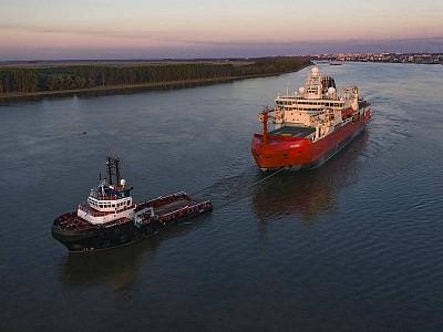Virus forces Aust icebreaker trial shift