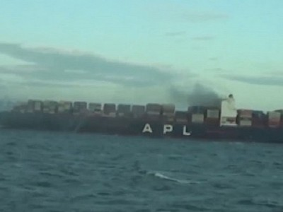 General average likely as another blaze breaks out on a containership