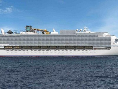 Turning a giant cruise ship into a lifeboat