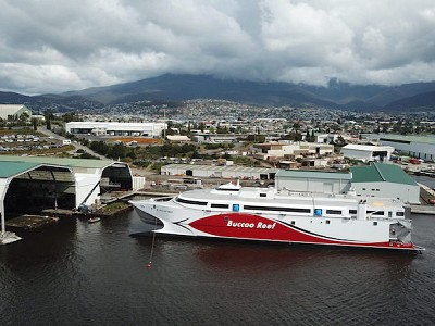 Incat Launches Ship for Trinidad and Tobago