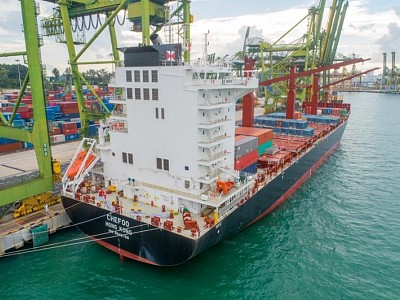 Swire Shipping welcomes its second 2400TEU vessel, MV Chefoo, into its fleet