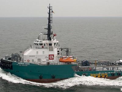 Bourbon Offshore vessel sinks in the Atlantic Ocean. Three crew members saved, 11 missing