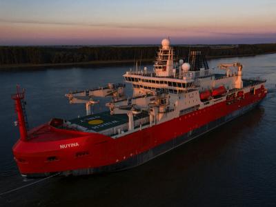 Australian Icebreaker Heads to Vlissingen for Sea Trials