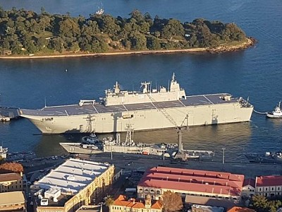 Navy can't rule out design faults as cause of HMAS Canberra and HMAS Adelaide woes