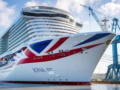 P&O Cruises' New LNG-Fueled Vessel Leaves Shipyard in Germany