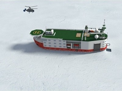 Russia starts development of €100 million North Pole research platform